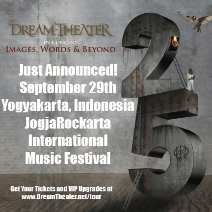 Just Announced September 29th Yogyakarta Indonesia Jogjarockarta