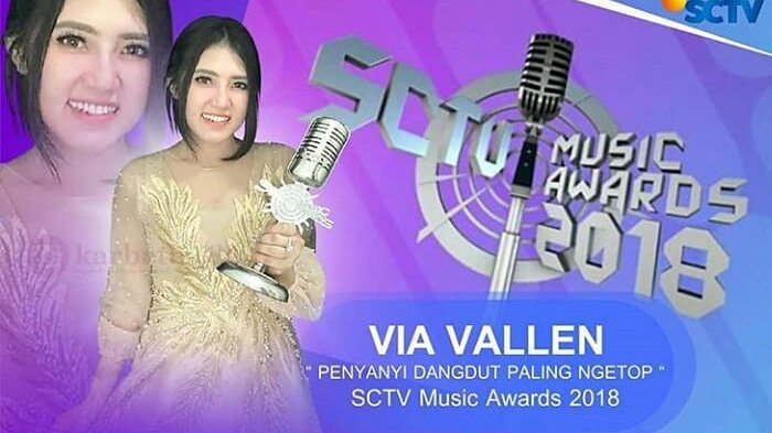 SCTV Music Awards 2018