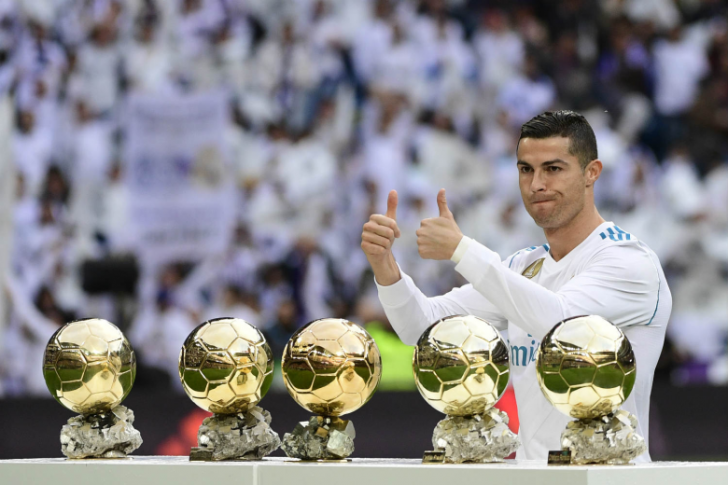 Ballon d'Or CR7